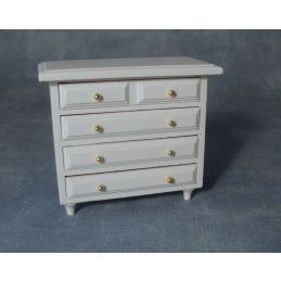 12th Scale White Drawers