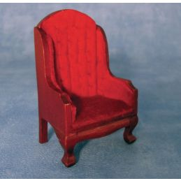 Red Fireside Chair