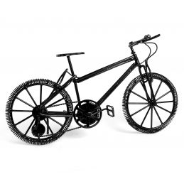 Miniature Black Mountain Bike