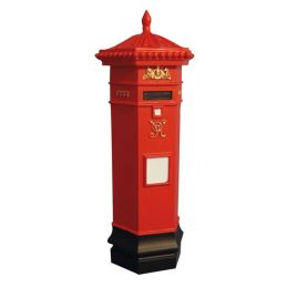 Dolls House Victorian Post Box