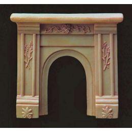 Cream Fireplace Surround