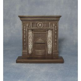 Cast Iron Style Fireplace