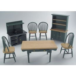 Green Pine Kitchen Sets