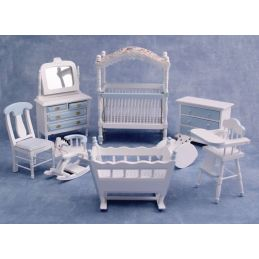 Blue Nursery Furniture Set