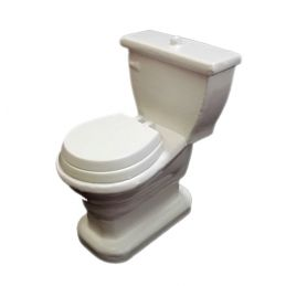Modern Close-Coupled WC Suite Toilet