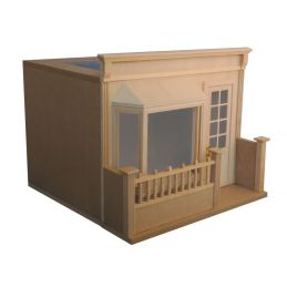 12th Scale Room Box Cafe for Dolls Houses