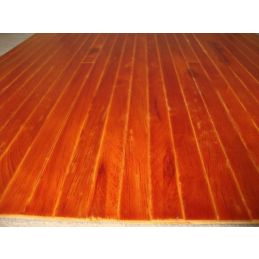 Real Wood Stained Medium Wood Flooring 450mm x 285mm Sheet for 1:12 Scale Dolls House