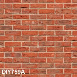 3D Effect Brick Style Embossed Heavyweight Papers - Embossed Weathered Brick