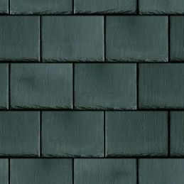 3D Effect Slate Style Roof Papers - Embossed Heavyweight