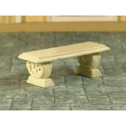Stone Effect Garden Seat