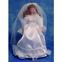 1/12th Scale Dolls House Porcelain Bride