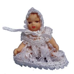 Tiny Baby 12th Scale Figure for Dolls House
