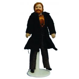 Victorian Father 12th Scale Figures for Dolls House