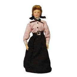 1/12th Scale Dolls House Porcelain Governess