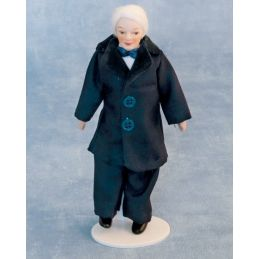 Porcelain Grandfather 12th Scale