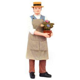 Gardener 1:12 Scale Resin Figurine for Dolls House