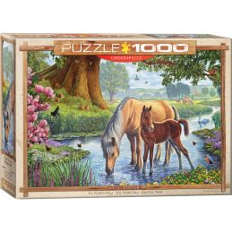 Eurographics The Fell Ponies 1000 Piece Jigsaw