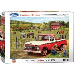 Eurographics Grandpa's Old Truck 1000 Piece Jigsaw