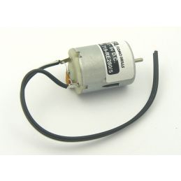 Medium Electric Motor 4.5 To 6 Volts Suppressed And Pre-wired