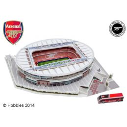 3D Arsenal Football Club Emirates Stadium Model Kit