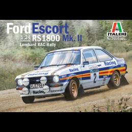 Italeri Ford Escort RS1800 RAC Rally Car