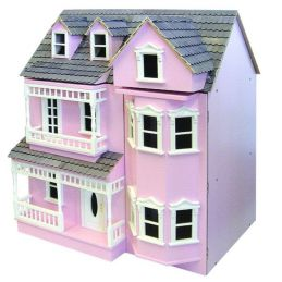 Exmouth Ready To Assemble Dolls House - Exmouth Painted Cream