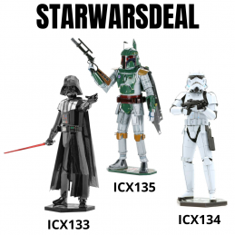 Star Wars Metal Model Kit Deal