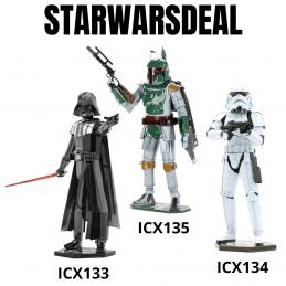 Star Wars Metal Model Kit Deal