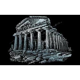 Engraving Art Parthenon