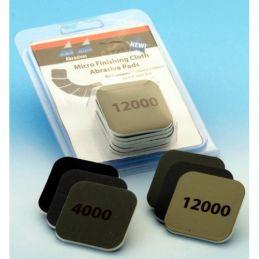 Micro Finishing Cloth Abrasive Pads Starter Set and Refills