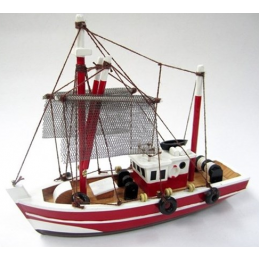 Fishing Magician Starter Boat Kit  Build Your Own Wooden Model Ship