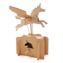 Pathfinders Make Your Own Flying Unicorn Automata Wooden Kit