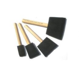 Foam Brush Starter Pack Set of 4 (1,2,3 and 4 inch)