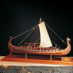 Amati Viking Longboat Kit Wooden Model Boat Kit