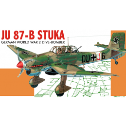 Guillows German STUKA Dive Bomber Balsa Scale Model Kit