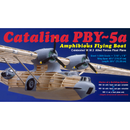 Guillows PBY-5a Catalina Balsa Aircraft Kit