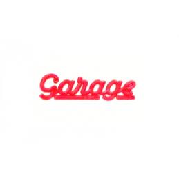 Model Garage Sign