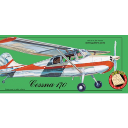 Guillows Cessna 170 Balsa Flying Model Airplane Kit