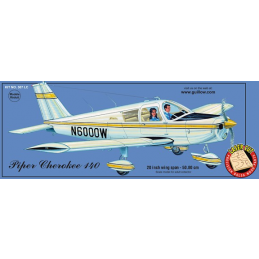 Guillows Piper Cherokee 140 Balsa Plane Kit