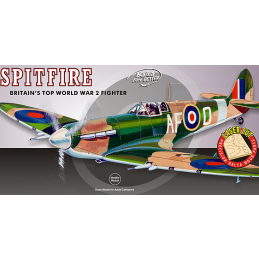 Guillow Spitfire Wooden Aircraft Kit