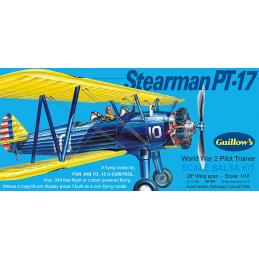 Guillows Stearman PT-17 World War 2 Pilot Trainer 1:16 Balsa Model Kit
