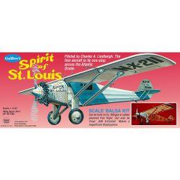 Guillow Spirit Of St Louis Wooden Aircraft Kit
