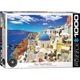 Oia Santorini Greece 1000 Piece Jigsaw