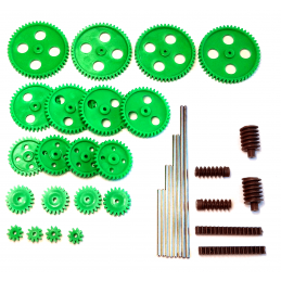 Gearwheel Set - Moulded Plastic