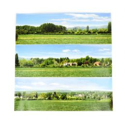 Gaugemaster Open Field Large Photo Backscene (2744x304mm)