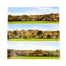Gaugemaster Village Large Photo Backscene (2744x304mm)