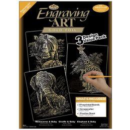 Gold Engraving Art Set