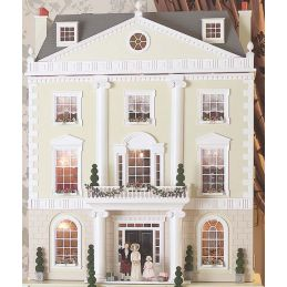 Grosvenor Hall Unpainted Dolls House by Dolls House Emporium