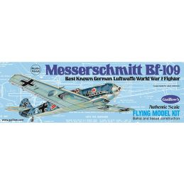 Guillows Messerschmitt BF-109 Balsa Wood Aircraft Kit