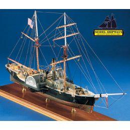 Model Shipways Harriet Lane Gunboat 1:128 Scale Model Ship Kit